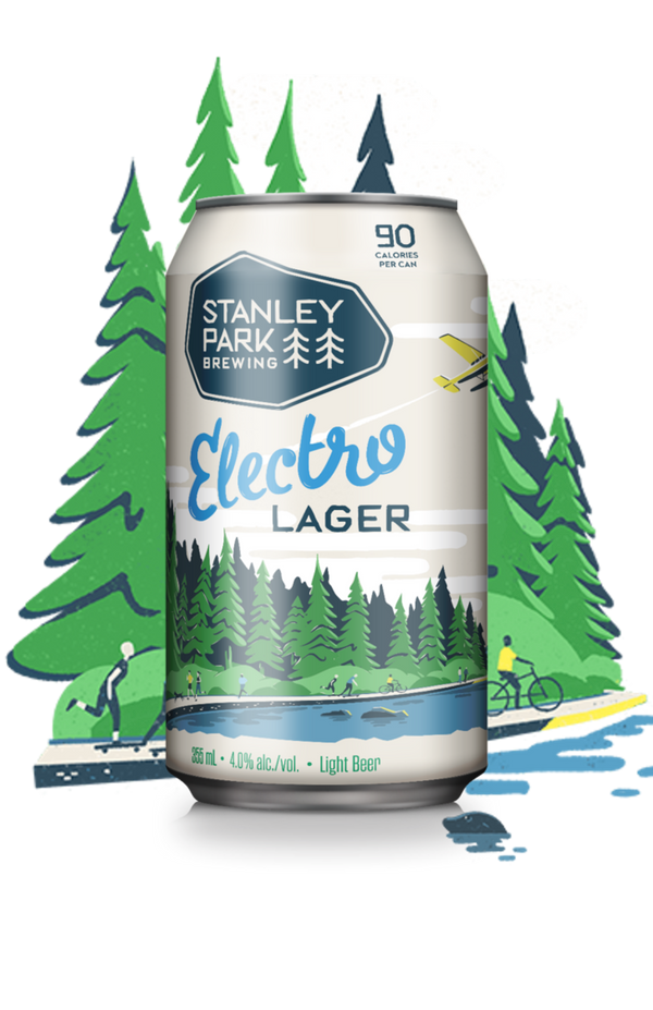 Electro Lager 355ml 6-Pack (90 Cal Per Can)