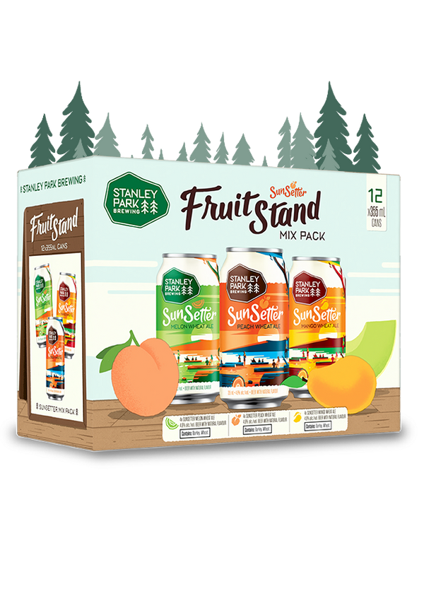 SunSetter FruitStand Mix Pack - 12x 355ml Cans