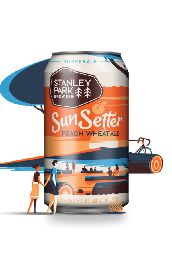 SunSetter Peach Wheat Ale
