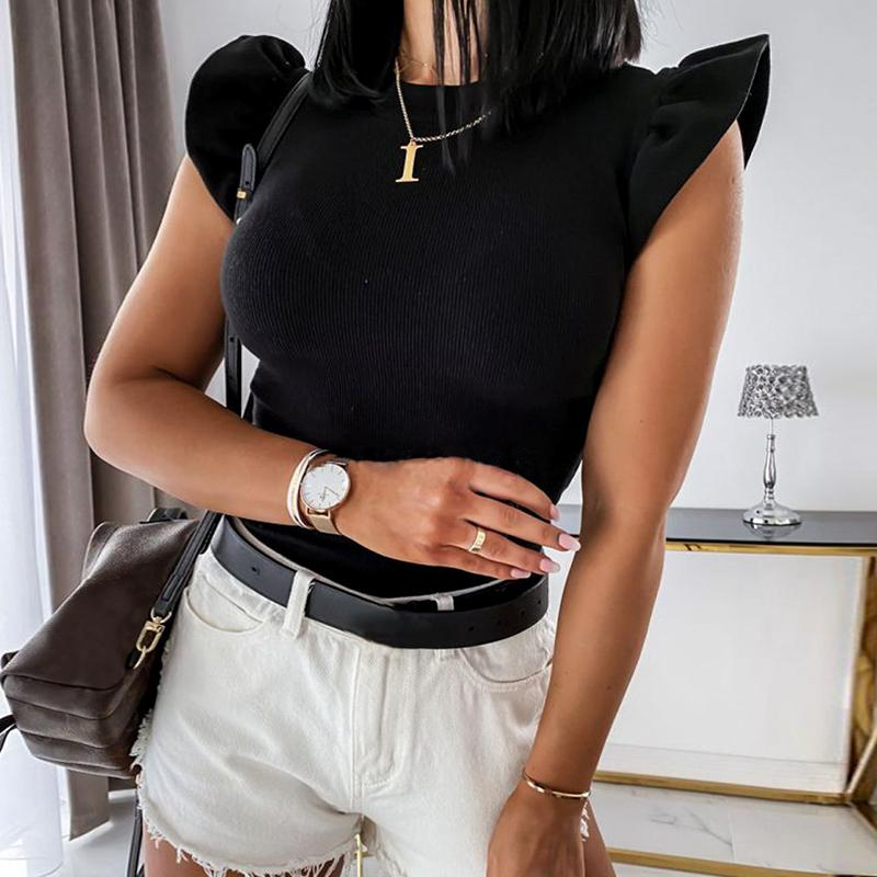 Casual solid top shirt