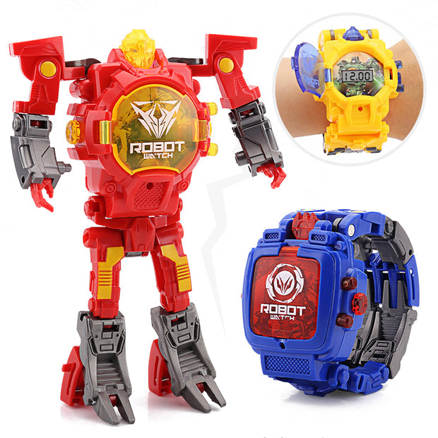 Transforming Robot Watch Toy
