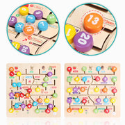 Wooden Alphabet Puzzle Game