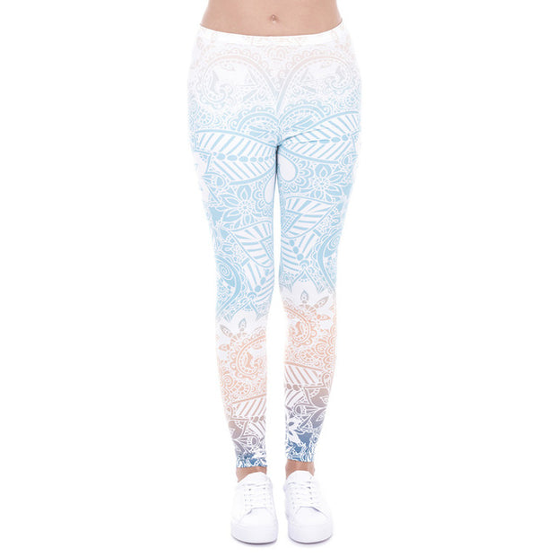 Ombre Printing Leggings