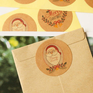 Merry Christmas scrapbook Stickers