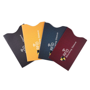 5Pcs Anti Theft RFID Credit Card Protector Cardholder Sleeve