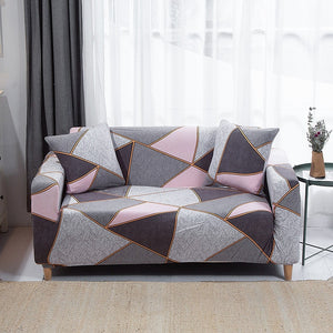 BunnelBee Geometric Unique Designs Universal Couch Covers Sofa Covers Stretch Slipcovers