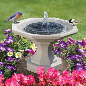 Floating Solar Water Fountain Garden Pool Pond Decoration