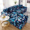 BunnelBee Contemporary Unique Designs Universal Couch Covers Sofa Covers Stretch Slipcovers