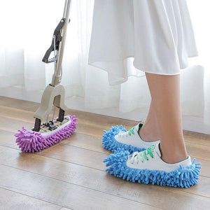 MopStep™ - World's Best Microfiber Cleaning Mop Slippers