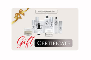 JC Complete Skin Health Gift Certificate
