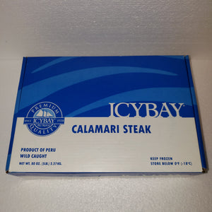 Specilaity Items - Calamari Steaks - 5 LBS BOX