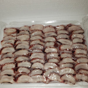 Specialty Items - SLICE TAKO - POKE READY  - 2.2 lbs Pack