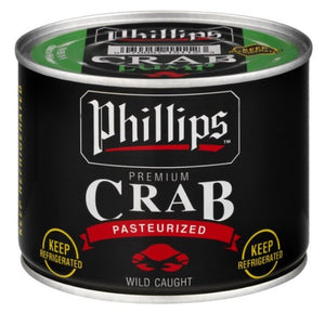 Speciality Items - Phillips Black Can Lump Crab Meat   1 lbs Can