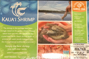 Kauai Shrimp 13/15 Size - 2# box