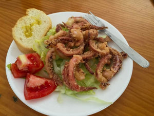 Specialty Items - SPANISH OCTOPUS - Available, Please call to order.