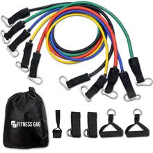 Load image into Gallery viewer, 11 Pieces - Home Fitness - Resistance Bands