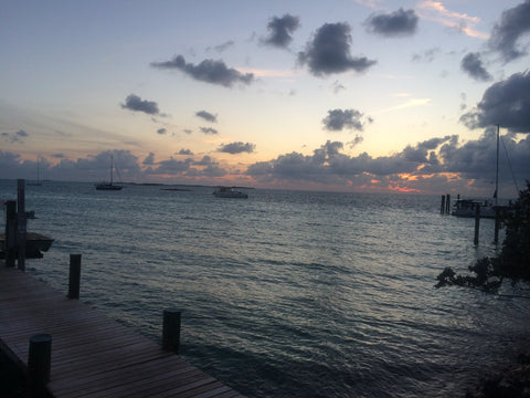 staniel cay yacht club in early March 2016