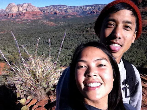 daniel and brittanny in Sedona