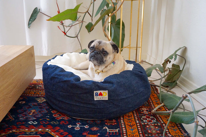 organic hemp doggie bed