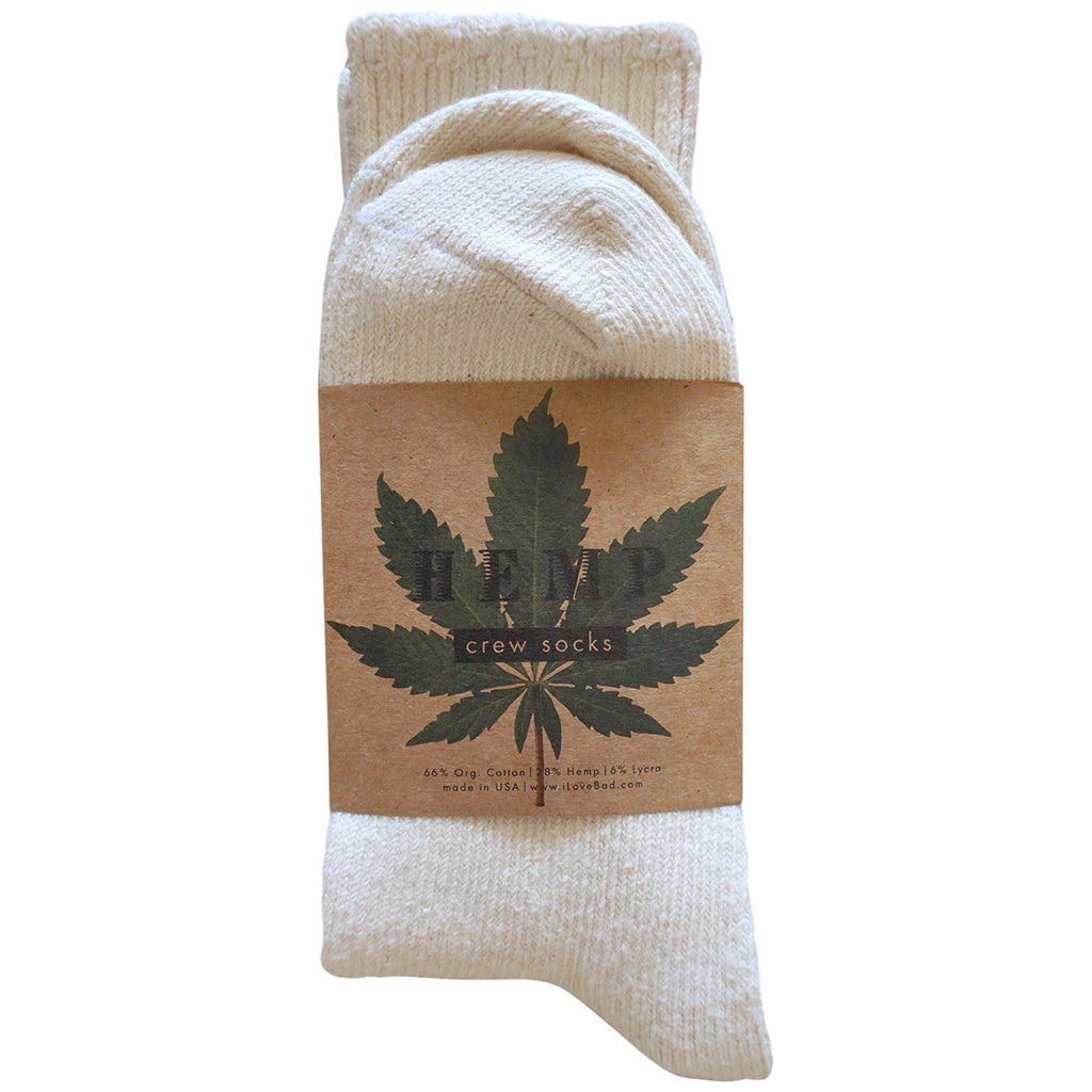 Hemp & Organic Cotton Socks - USA made