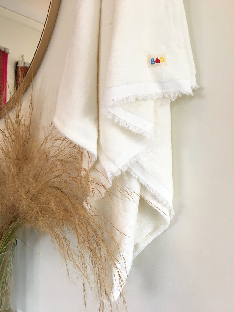 Mildew-free Organic Hemp Bath Towels
