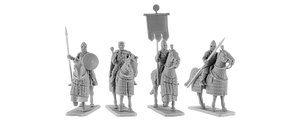 Byzantine Generals with Generals and Standard Bearer (4)