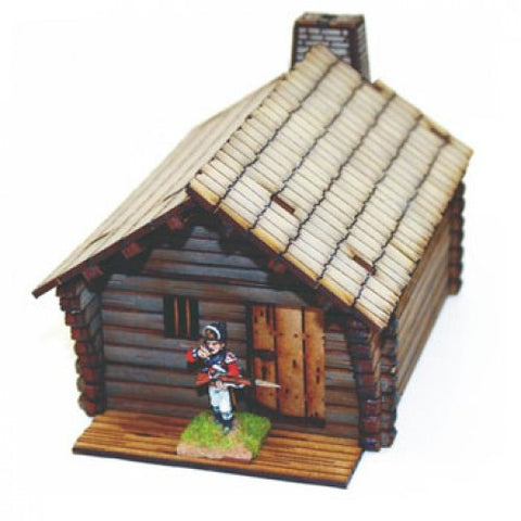 Pioneer's Long Timber Cabin