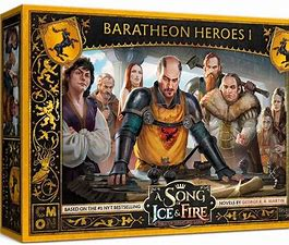A Song of Ice and Fire - Baratheon Heroes I - Inglese