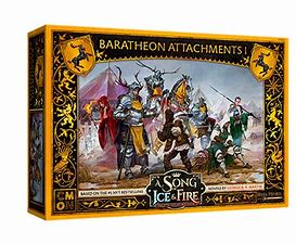 A Song of Ice and Fire - Baratheon Attachments - Inglese