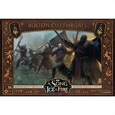 A Song of Ice and Fire: Bolton Cutthroats - Inglese