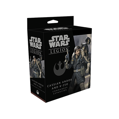 Star Wars: Legion - Cassian Andor and K-2SO - DE