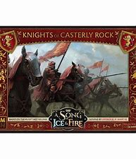 A Song of Ice and Fire: Lannister Knights of Casterly Rock - Inglese