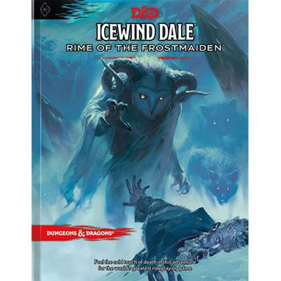 D&D ICEWIND DALE: RIME OF THE FROSTMAIDEN HC