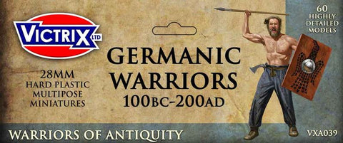 Germanic Warriors 100BC - 200AD