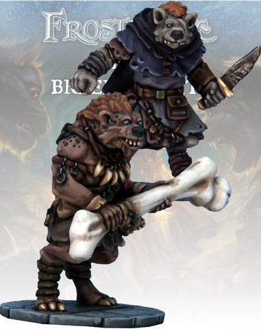 Gnoll Thief & Barbarian