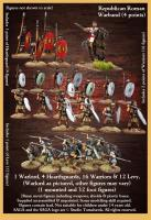 Republican Roman Starter Warband  (4 points)