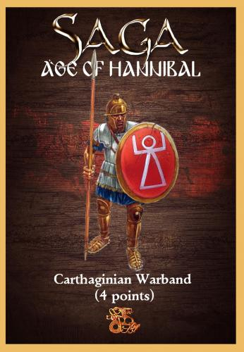 Carthaginian Starter Warband (4 points) PRE ORDINE LA MERCE SARA' DISPONIBILE INDICATIVAMENTE LA PRIMA SETTIMANA DI OTTOBRE