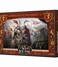 A Song of Ice and Fire: Lannister Attachments -Inglese