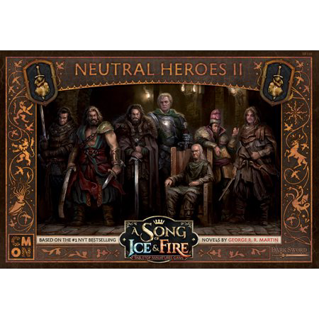 A Song of Ice and Fire: Neutral Heroes II - Inglese