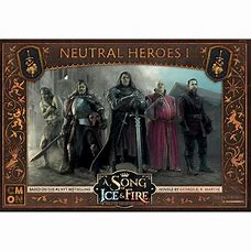 A Song of Ice and Fire: Neutral Heroes I - Inglese