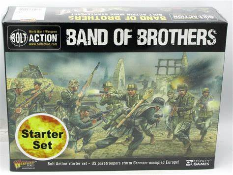 "Bolt Action 2 Starter Set ""Band of Brothers"" - Inglese"