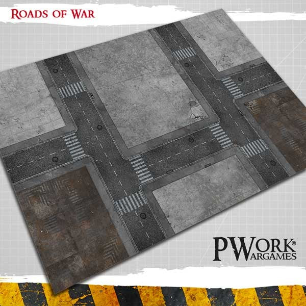 4x6 (92x122 cm) Road of War