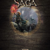 SAGA Age of Magic Hard-back Book & 6 card Battle Boards