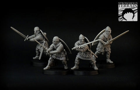Crusader Hearthguard with Longsword (4)