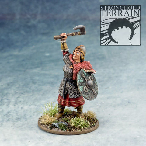 Gudrun Chieftain of the Shield Maiden