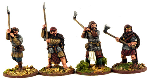 Norse Gael Hearthguards with Dane Axes (4)