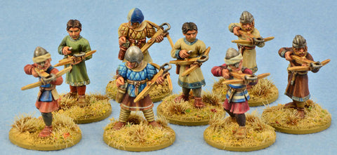Milites Christi Sergeants (Warriors) with crossbows (8)