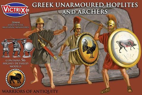 Greek Unarmoured Hoplites and archers (56)