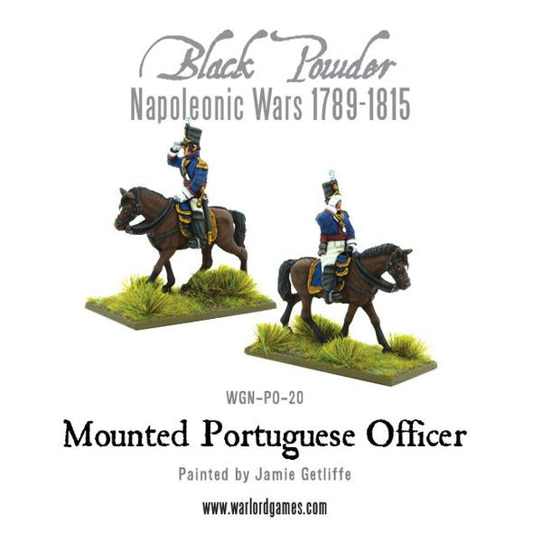 Mounted Portuguese Officer