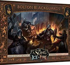 A Song of Ice and Fire:  BOLTON BLACKGUARDS - Inglese